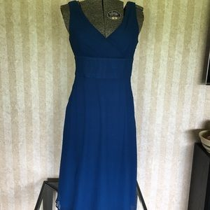 J. Crew Silk Chiffon Dress